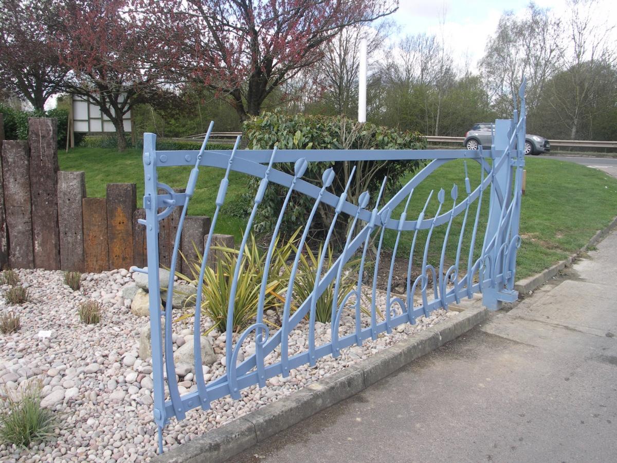 Entrance Gates Birmingham